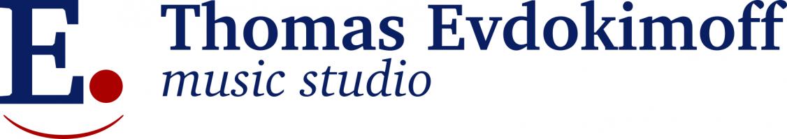 Thomas Evdokimoff music studio